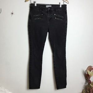 Madewell Black Zip Jeans